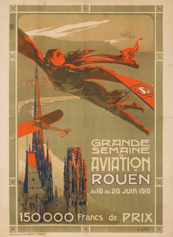 10: Grande Semaine d'Aviation / Rouen. 1910