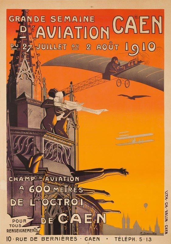 12: Semaine d'Aviation / Caen. 1910. 1910