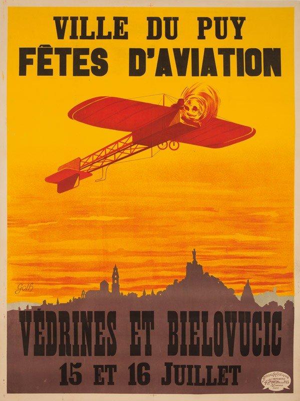 14: Fêtes d'Aviation / Ville du Puy. 1911