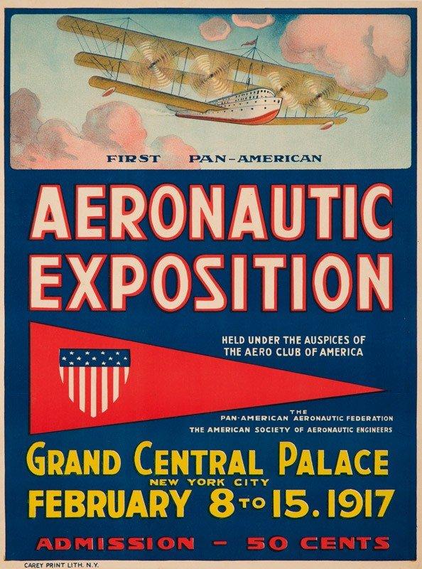 22: First Pan-American Aeronautic Exposition. 1917
