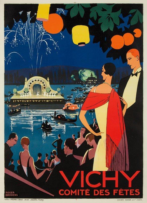 114: Vichy / Comité des Fêtes. ca. 1926