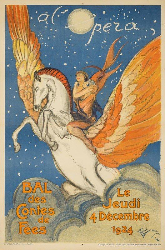 228: A l'Opera / Bal des Contes de Fées. 1924