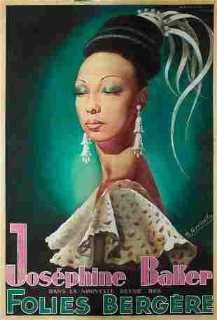296: Josephine Baker / Folies Bergère. 1949