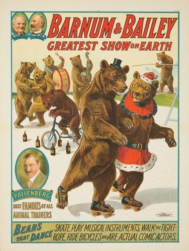 48: Barnum & Bailey / Bears that Dance. 1916