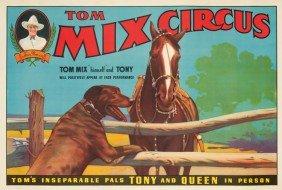 Tom Mix Circus / Tony & Queen. Ca. 1935