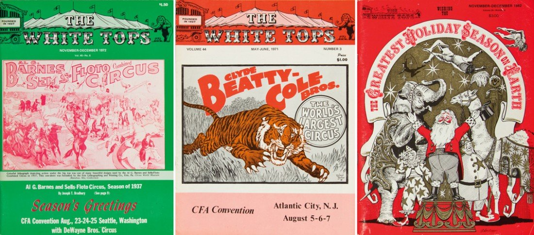 107: White Tops: 221 Issues. 1967-2011