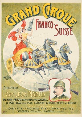 176: Grand Cirque / Franco-Suisse. ca. 1910