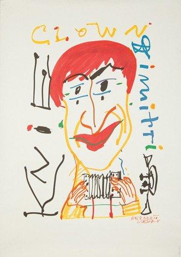 179: Knie / Clown Dimitri. 1979