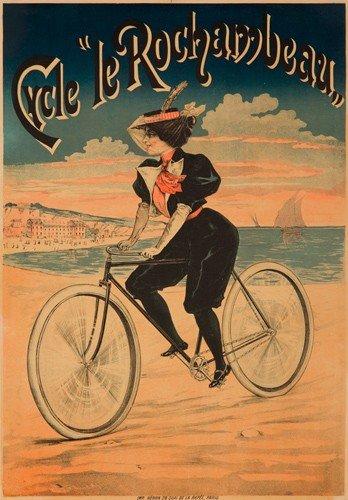 "2: Cycle ""le Rochambeau."" ca. 1890"