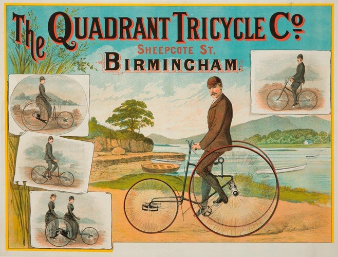 3: The Quadrant Tricycle Co. ca. 1887