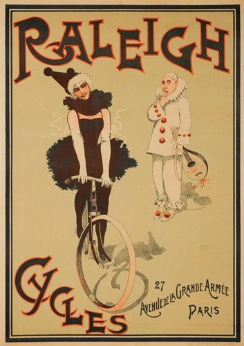 7: Raleigh Cycles. ca. 1896