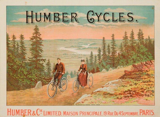 8: Humber Cycles. ca. 1898