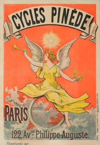 9: Cycles Pinède. ca. 1897