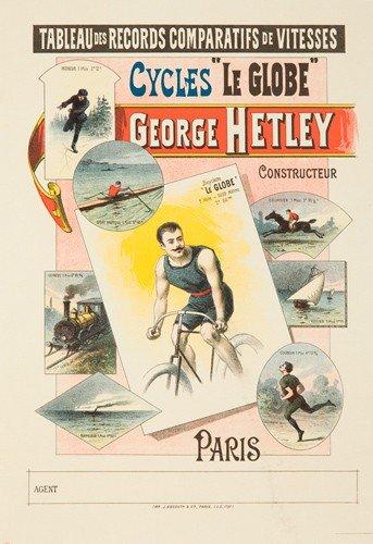 """10: Cycles """"Le Globe"""" / George Hetley."""