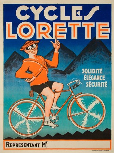 13: Cycles Lorette. ca. 1930