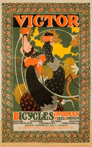 21: Victor Bicycles / Overman Wheel Co. 1896