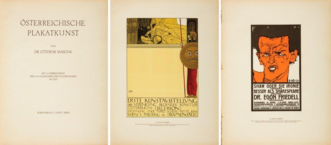 552: Osterreichicsche Plakatkunst. ca. 1915
