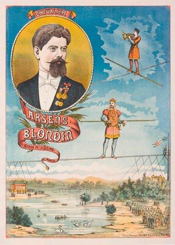 3: Arsesn Blondin. ca. 1890