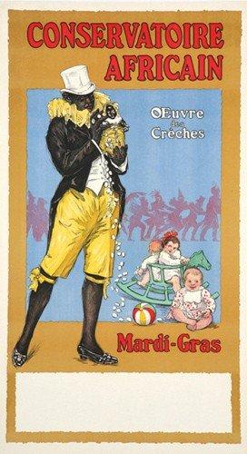 12: Conservatoire Africain / Mardi-Gras. ca. 1920