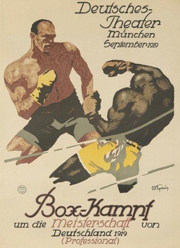 216: Box-Kampf. 1919