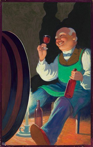 5: The Merry Vintner.  ca. 1900