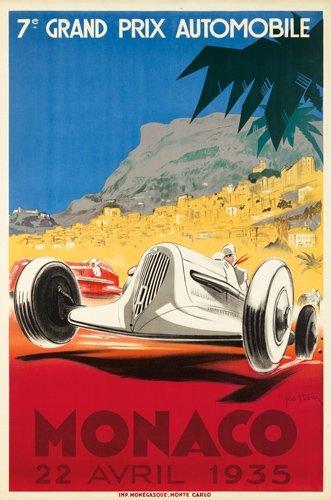 5: Monaco Grand Prix 1935. 1935