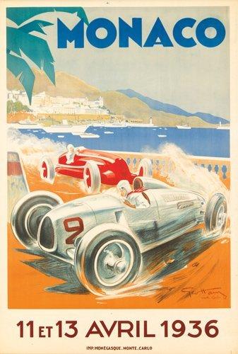 6: Monaco Grand Prix 1936. 1936