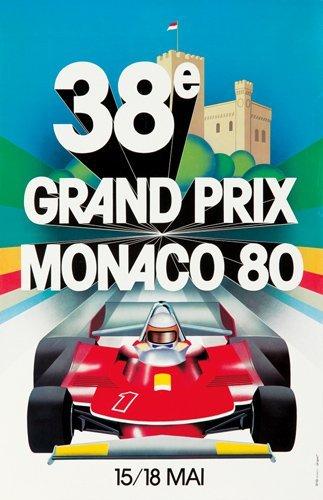 8: Monaco Grand Prix 1980. 1980
