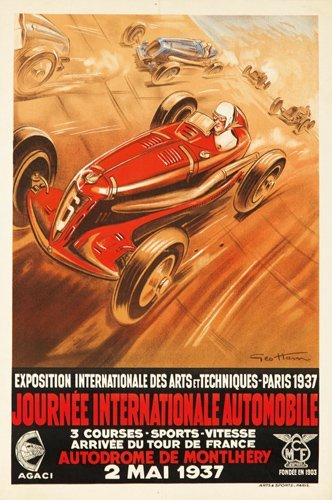 9: Journée Internationale Automobile. 1937