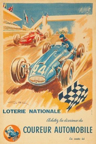 10: Loterie Nationale / Coureur Automobile.