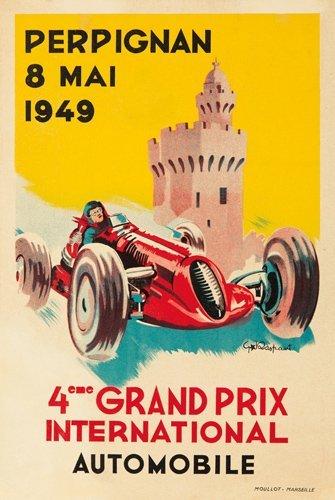 11: 4ème Grand Prix / Perpignan 1949.  1949
