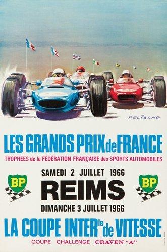 12: Les Grands Prix de France / Reims. 1966