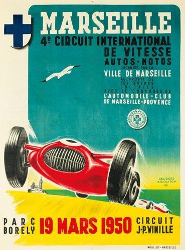 13: Marseille. 1950