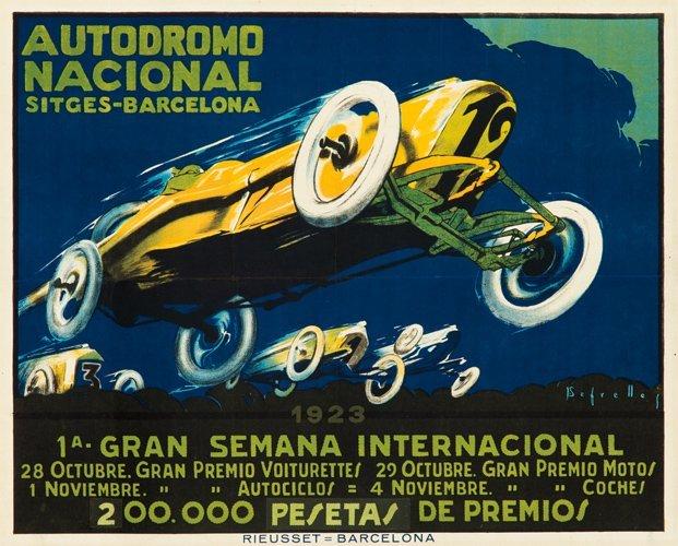 14: Autodromo Nacional. 1923