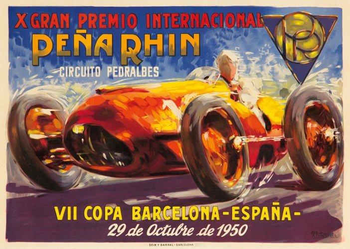 15: X Gran Premio Internacional Peña Rhin.  1950