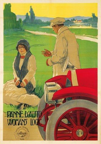 18: Panne d'Auto / Woman's Logic. 1912