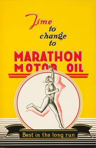 22: Marathon Motor Oil. ca. 1926