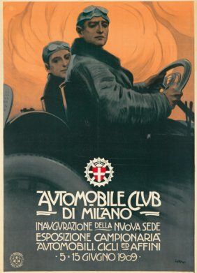 Automobile Club De Milano. 1909