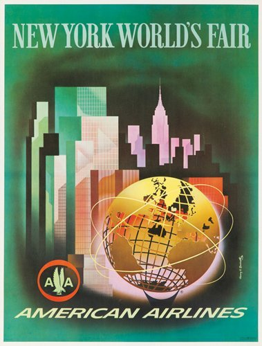 72: American Airlines / New York World's Fair. 1961