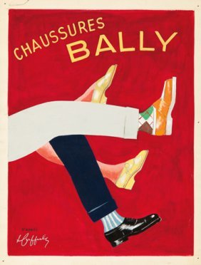 Chaussures Bally: Maquette.