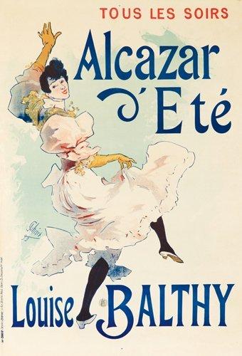 265: Alcazar d'Eté / Louise Balthy.  1893