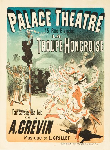 266: Palace Théâtre / A. Grévin.  1883