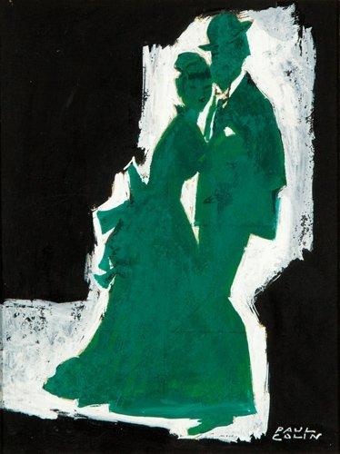 286: Bal Renoir / Moulin de la Galette: Maquette. 1956