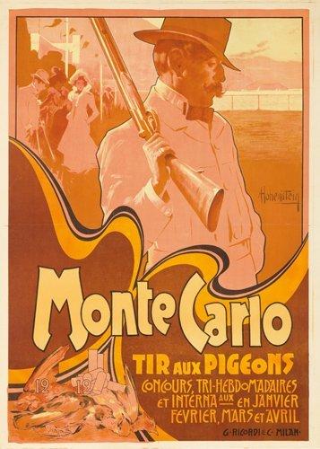 358: Monte Carlo / Tir aux Pigeons.  1900