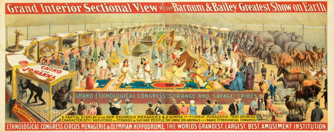 3: Barnum & Bailey / Grand Ethnological Congress. 1894