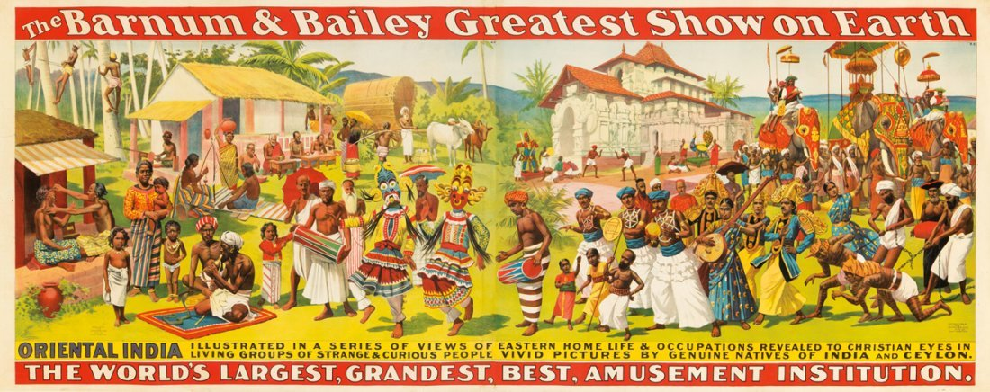 4: Barnum & Bailey / Oriental India. 1896