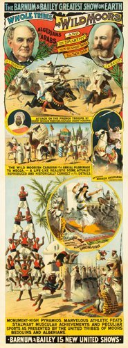 5: Barnum & Bailey / Wild Moors. 1889