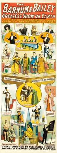 6: Barnum & Bailey / Congrès de Curiositès. 1900