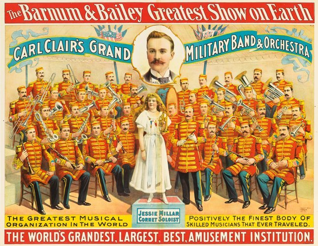 11: Barnum & Bailey / Carl Clair's Band. 1895