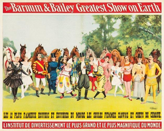 12: Barnum & Bailey / Les 12 Plus Fameux Écuyers. 1897